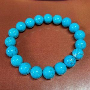 Natural Turquoise Beaded Bracelet